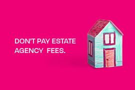 Don't pay estate agnecy fees with Parker Meller.